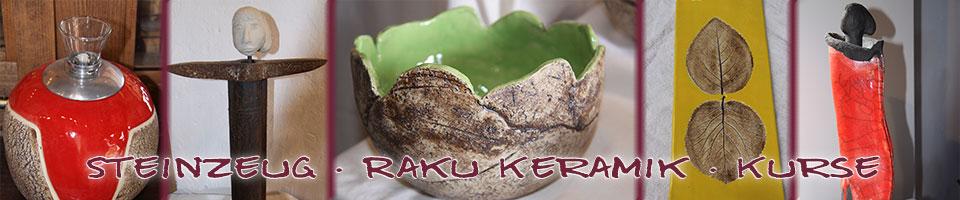 Töpferei Tägernau - Steinzeug – Raku Keramik – Kurse